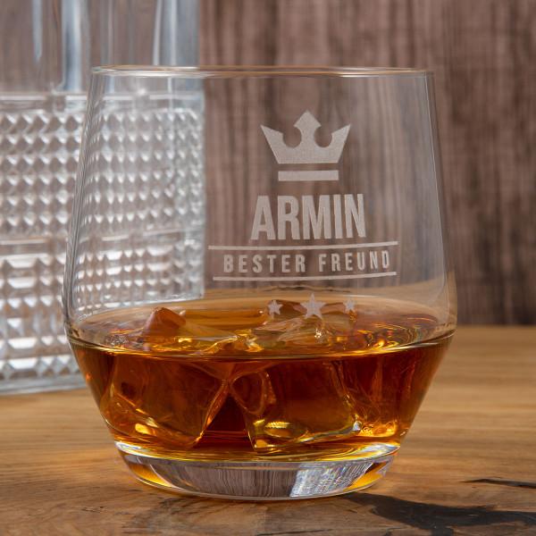 "LEONARDO Whiskyglas mit Gravur ""Puccini"""