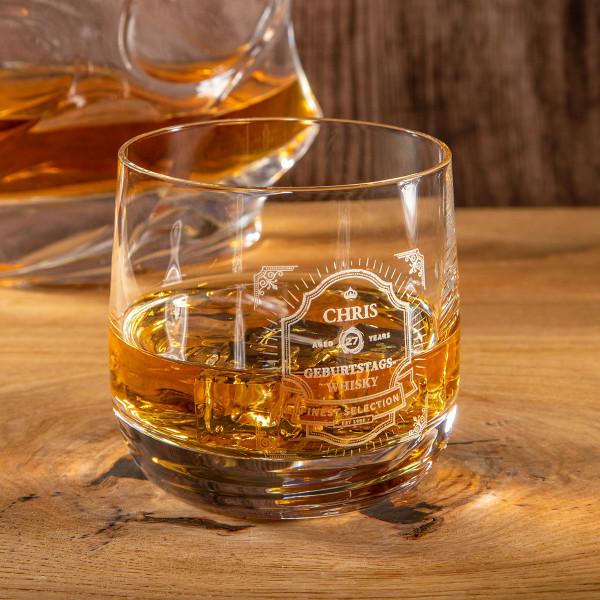"Whiskyglas mit Gravur ""Cold Ice"""