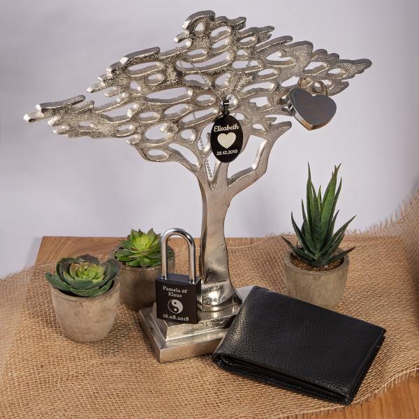 Großer Deko-Baum aus Metall