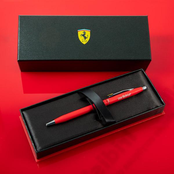 CROSS Kugelschreiber mit Gravur - Ferrari Century Rot