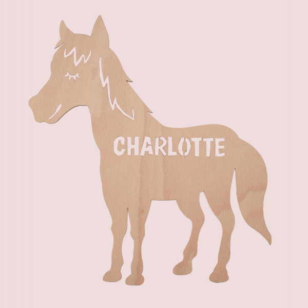 """Nachtlicht """"Pferd"""" mit Personalisierung"""