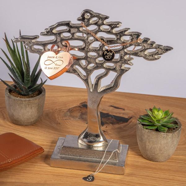 Kleiner Deko-Baum aus Metall
