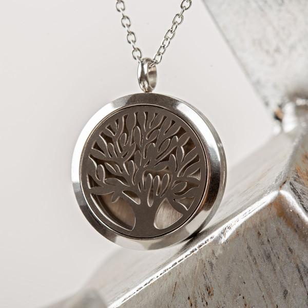 Halskette Lebensbaum mit Gravur