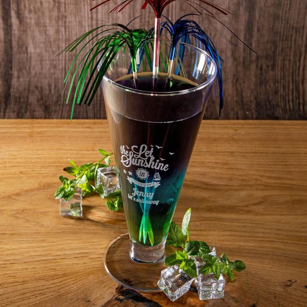 "Cocktail Glas mit Gravur ""Citrus"""