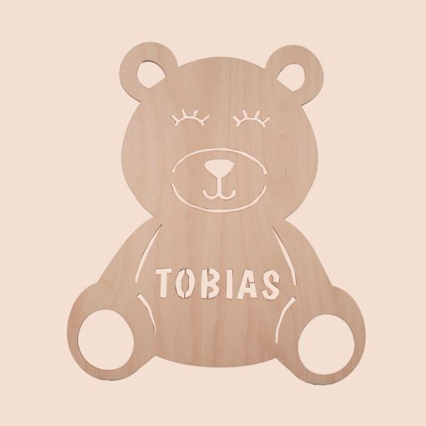 """Nachtlicht """"Teddy"""" mit Personalisierung"""