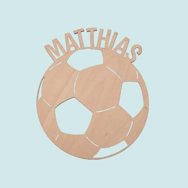 """Nachtlicht """"Fußball"""" mit Personalisierung"""