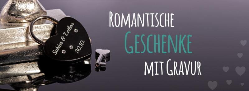 Romantische Geschenke mit Gravur