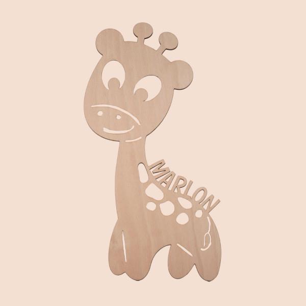 """Nachtlicht """"Giraffe"""" mit Personalisierung"""