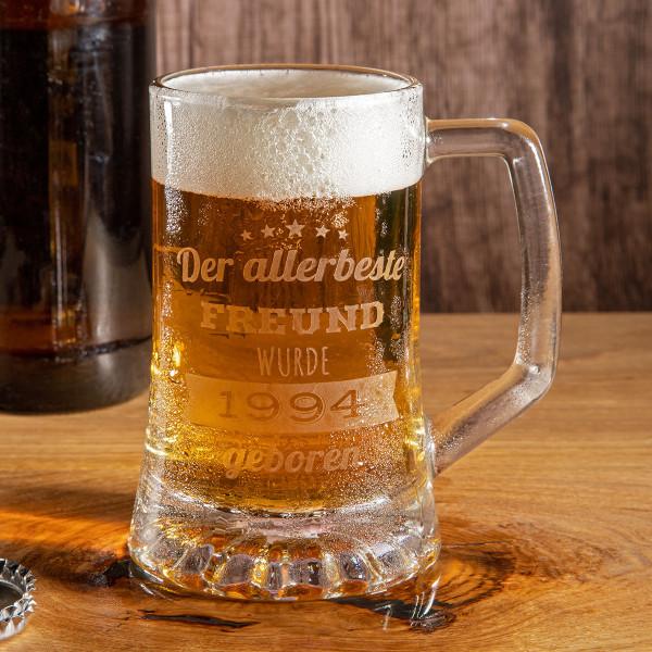 """Bierkrug mit Gravur """"Classic small"""""""
