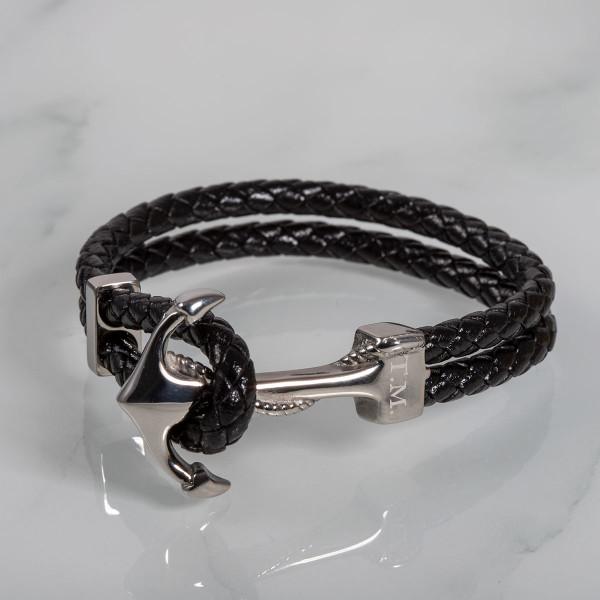 Anker Armband mit Gravur (20cm)
