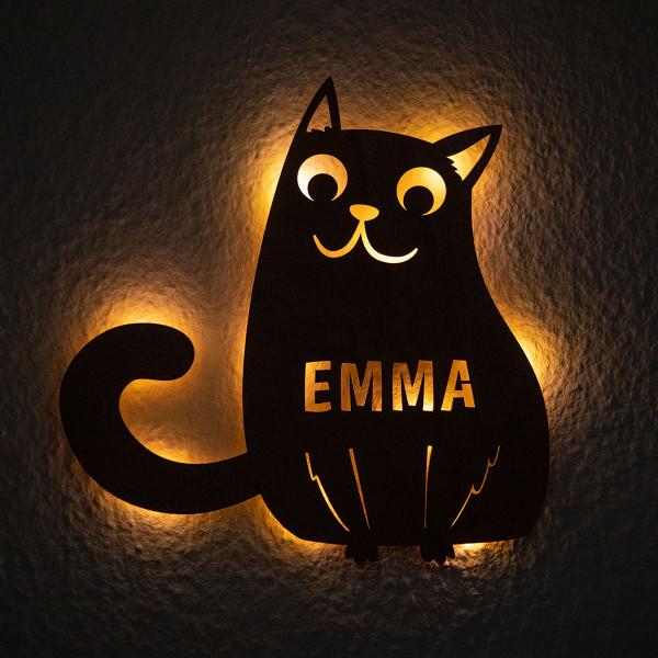 """Nachtlicht """"Katze"""""""