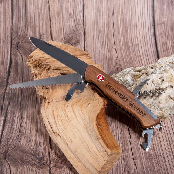 """Schweizer Taschenmesser Victorinox® """"RangerWood"""" mit Gravur"""