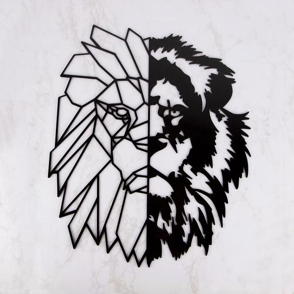 "Wanddekoration ""Lion"" aus Acryl"