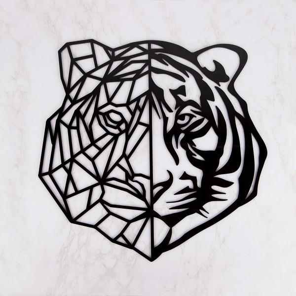 "Wanddekoration ""Tiger"" aus Acryl"