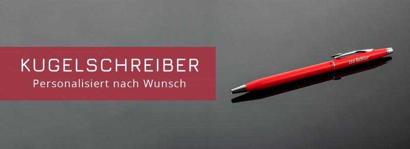 Elegante Kugelschreiber mit deiner Gravur